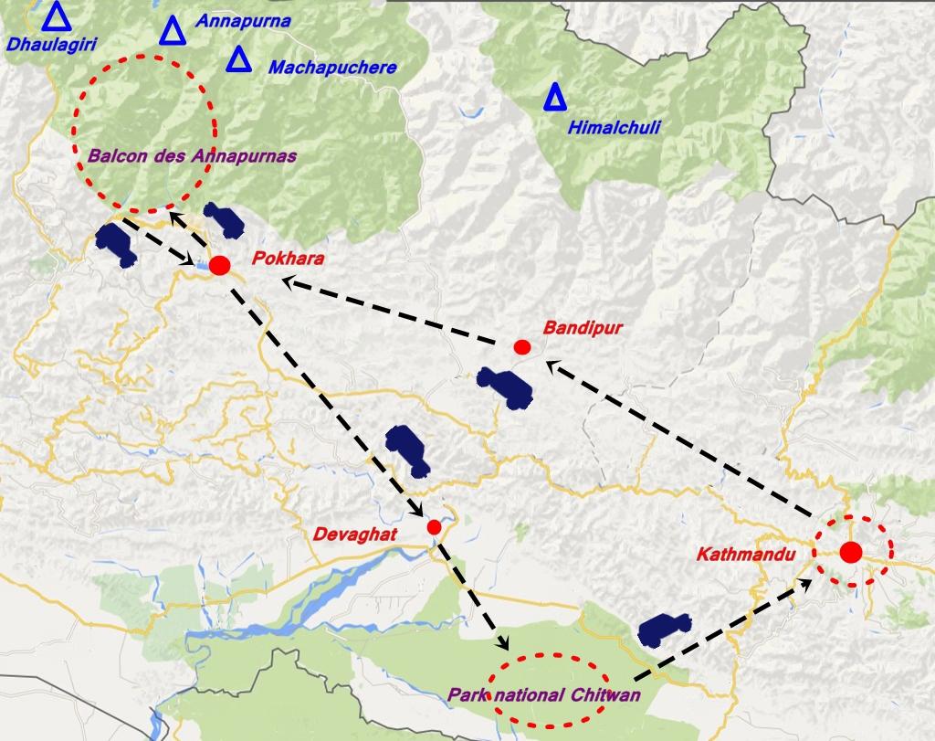 circuit Namaste Népal